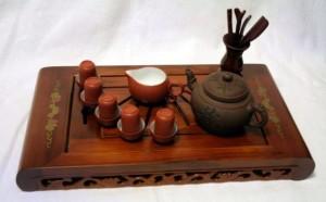 ча бань и чайная посуда