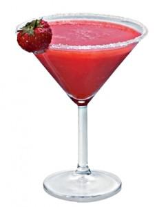коктейль с клубничкой