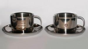 металлические чашки