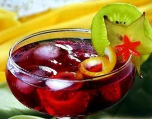 крюшон с фруктами