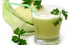 овощной сок в стаканах
