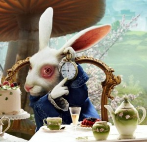 безумный мартовский заяц