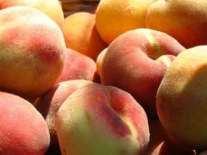 зрелые персики