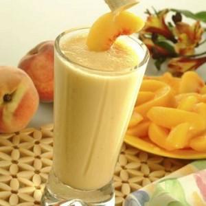коктейль с персиками