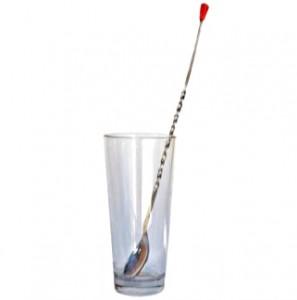 стакан с барной ложечкой