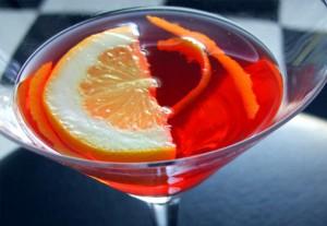 коктейль в рюмке