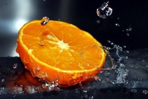 половинка апельсина