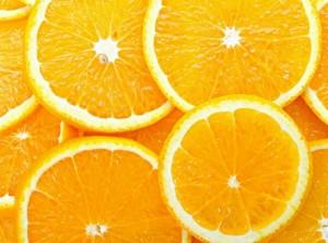 кружочки апельсина