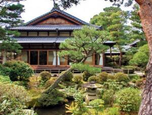 японский чайный домик