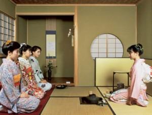 чаепитие по-японски