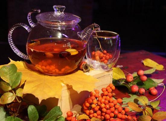 Чай из рябины польза