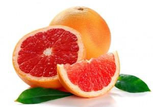 спелые грейпфруты