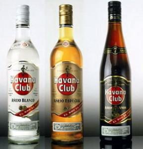 ром в бутылках