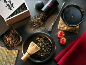 принадлежности для чайной церемонии