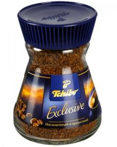 """растворимый кофе """"Tchibo"""" в банке"""