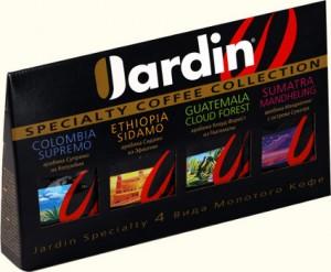 упаковка кофе jardin