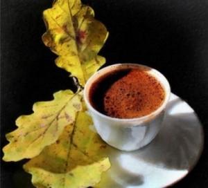 кофейный напиток в чашке