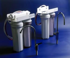 стационарный фильтр-водоочиститель с краном