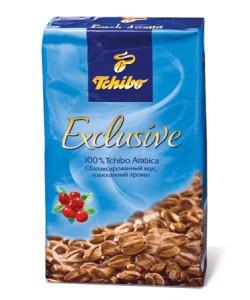 пачка кофе Tchibo Exclusive