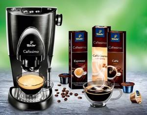 "Кофемашина и кофе ""Tchibo Cafissimo"""