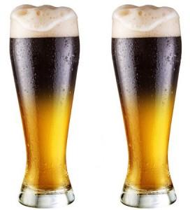 слоистый коктейль с пивом