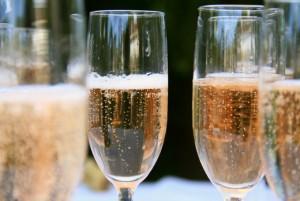 коктейль с перно и шампанским