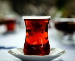 чай в бокале