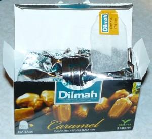 коробка с чаем Дилма