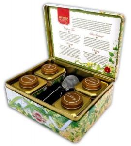 чай в жестяных коробках