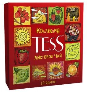 подарочный чай TESS