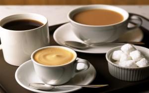 чай с кофе
