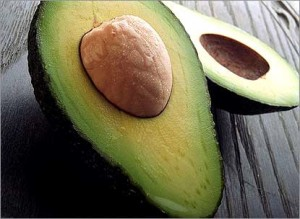 плод авокадо