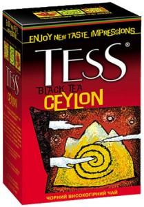 """чай """"TESS CEYLON"""""""