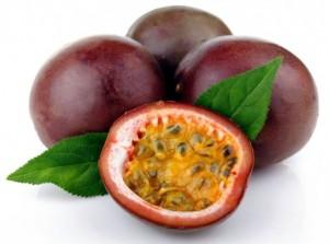 красные плоды маракуйи