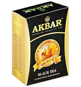 пачка чёрного чая