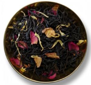 чашка с чайным листом