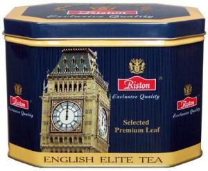 """чай """"ENGLISH ELITE TEA"""" в банке"""