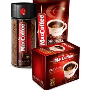 кофе в упаковках
