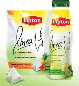 """специальный чай """"Lipton Linea"""""""
