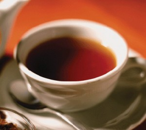 цейлонский чай в чашке