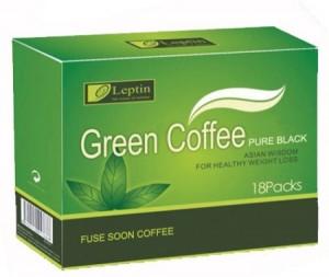 пачка зелёного кофе