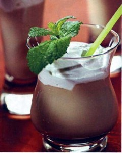 коктейль с мятой