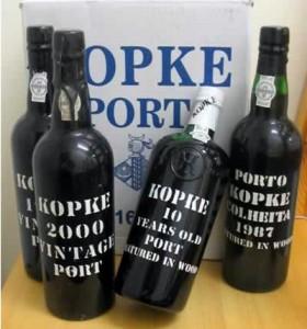 бутылки с портвейном
