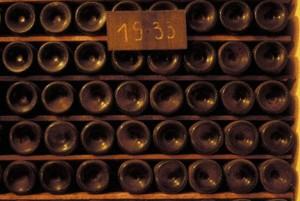 выдержка вина в бутылках