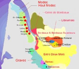 винодельческая область Бордо
