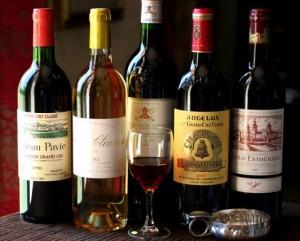 вина бордо
