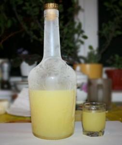 домашний лимонный ликёр