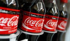 бутылочки с Кока-колой