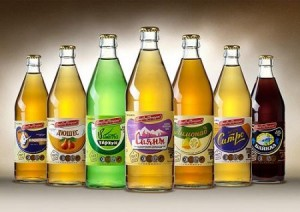 бутылки с лимонадом