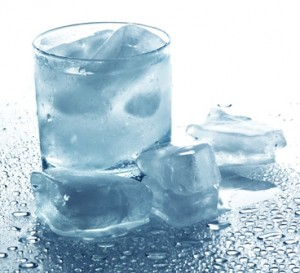 лёд и талая вода